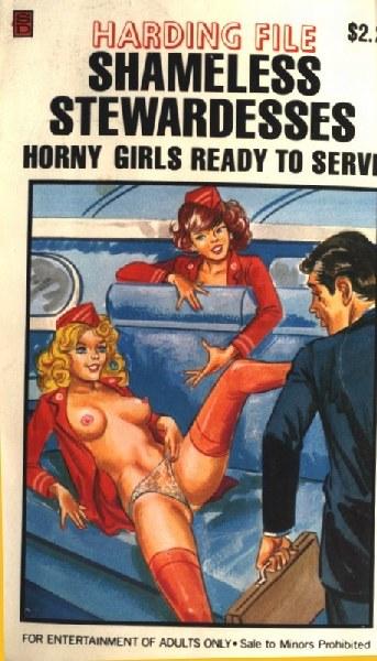 Shameless Stewardesses - Horny Girls Ready to Serve - Ebook