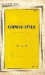 Chinese Style by PH Araoh - Ebook