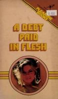 A Debt Paid In Flesh by R.D. Barr - Ebook