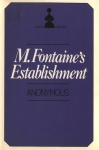 M. Fontaine's Establishment by Anonymous - Ebook